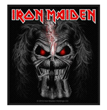 Iron Maiden Standard Patch: Eddie Candle Finger (Packed)