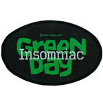 Green Day Standard Patch: Insomniac (Loose)