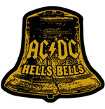 AC/DC Standard Patch: Hells Bells Cut Out (Loose)