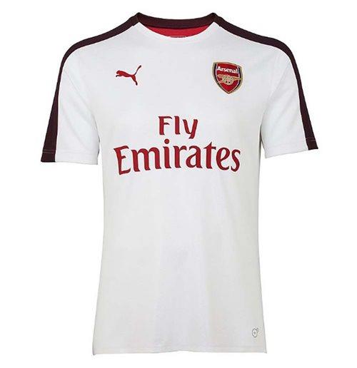 Júnior Intercambiar tinción  Buy Official 2018-2019 Arsenal Puma Stadium Jersey (White)