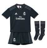 2018-2019 Real Madrid Adidas Away Mini Kit