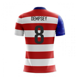 2018-19 USA Airo Concept Home Shirt (Dempsey 8) - Kids