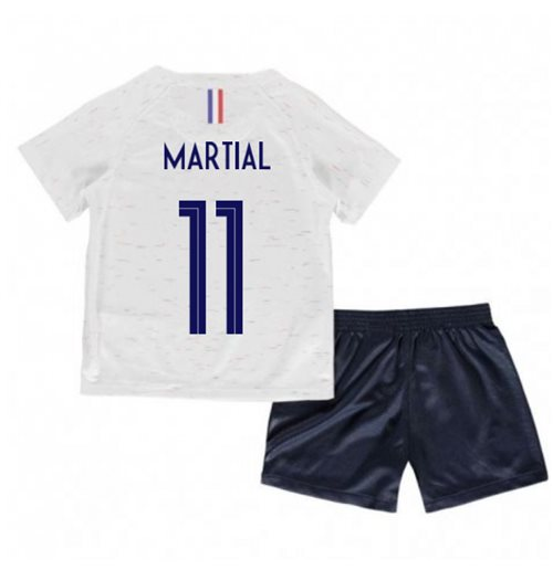 2018-2019 France Away Nike Little Boys Mini Kit (Martial 11)