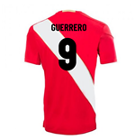 2018-2019 Peru Away Umbro Football Shirt (Guerrero 9)