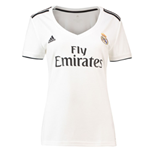 2018-2019 Real Madrid Adidas Womens Home Shirt