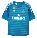 2018-2019 Real Madrid Adidas Away Goalkeeper Shirt (Kids)