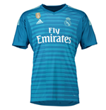2018-2019 Real Madrid Adidas Away Goalkeeper Shirt