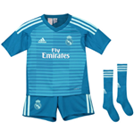 2018-2019 Real Madrid Adidas Away Goalkeeper Mini Kit