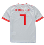 2018-2019 Spain Away Adidas Mini Kit (David VIlla 7)