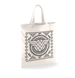Wonder Woman - Aztec Pattern - Bag White