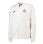 2018-2019 Real Madrid Adidas ZNE Anthem Jacket (White)