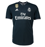 2018-2019 Real Madrid Adidas Authentic Away Football Shirt