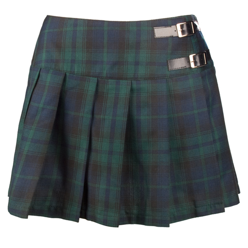 Black Pistol Buckle Mini Tartan