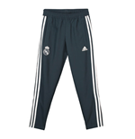 2018-2019 Real Madrid Adidas Woven Pants (Dark Grey) - Kids