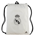 2018-2019 Real Madrid Adidas Gym Bag (White)