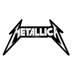 Metallica Standard Patch: Shaped Logo (Loose)