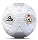 2018-2019 Real Madrid Adidas Mini Football (White)