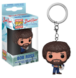 The Joy of Painting Pocket POP! Vinyl Keychain Bob Ross 4 cm