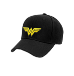Wonder Woman - Logo Baseball Cap - Headwear Black