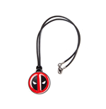 Deadpool Neclace with Pendant Face