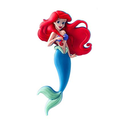 Disney The LITTLE MERMAID Soft Touch PVC Magnet