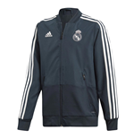 2018-2019 Real Madrid Adidas Presentation Jacket (Dark Grey) - Kids