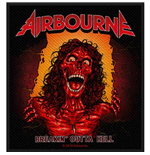 Airbourne Standard Patch: Breakin' Outa Hell (Loose)