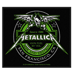 Metallica Standard Patch: Beer Label (Loose)