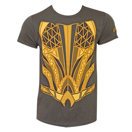 AQUAMAN  Justice League Suit Up Costume Tee