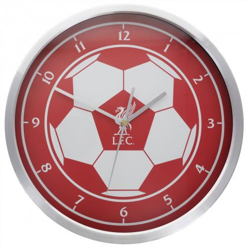 Liverpool F.C. Metallic Wall Clock