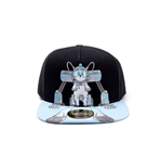 Rick and Morty Embroidery Snapback Cap Snowball