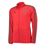 2018-2019 Bayern Munich Adidas Training Track Jacket (Red)