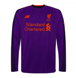 2018-2019 Liverpool Away Long Sleeve Shirt (Kids)