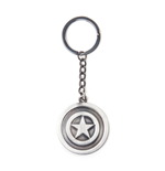 Marvel Metal Keychain Captain America Metal Shield 7 cm