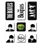 The Beatles Fridge Magnet Set: Classic Icons