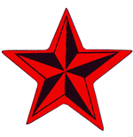 Generic Standard Patch: Nautical Star (Loose)