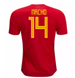 2018-19 Spain Home Shirt (Nacho 4) - Kids