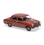 MERCEDES BENZ 180 W120 DARK RED 1955