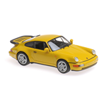 PORSCHE 911 TURBO 964 YELLOW 1990