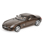 MERCEDES BENZ SLS AMG 2010 BROWN METALLIC