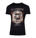 GUINNESS Male Dog's Head Bottling T-Shirt, Extra Large, Black