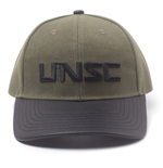 HALO Embroidered UNSC Logo Adjustable Cap, Green/Grey