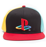 SONY Playstation Embroidered Original Logo Colours Snapback Baseball Cap, Multi-colour