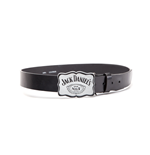 Jack Daniel's - Curved Plate with Black Leather Belt