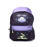 Rick and Morty Backpack The Space Cruiser