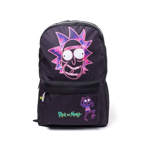 Rick and Morty Backpack Ricks Face