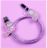 Pusheen USB Charging Cable 2in1 Mermaid