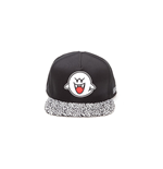 Nintendo Snapback Cap Boo Rubber Patch