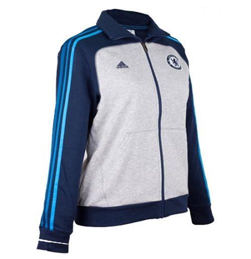 2012 13 Chelsea Adidas Womens Track Jacket (Navy)