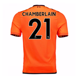 2017-18 Liverpool Third Shirt (Chamberlain 21)